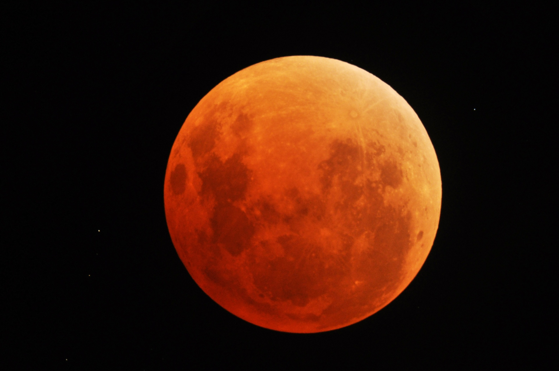 "The ""Blood Moon"" of the 15th"